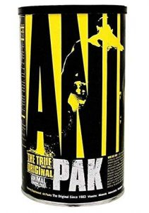 animal pak multivitamins