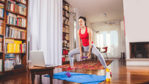 How to start exercise at home?