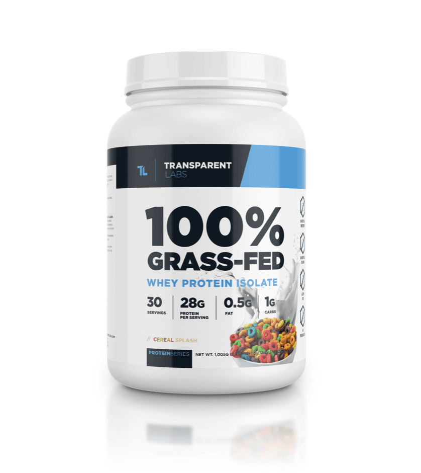 Transparent labs – Grass-fed Whey Protein Isolate