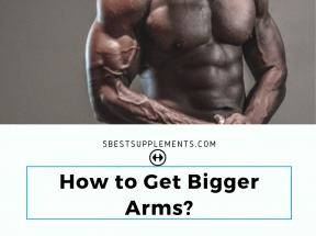 get bigger arms