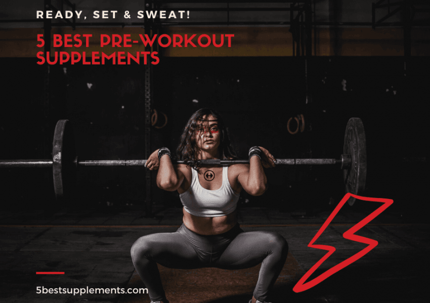 5 best pre-workout supplements